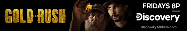 Discovery Gold Rush Ad Banner
